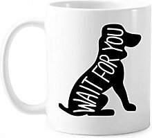 DIYthinker Black Dog Animal Silhouette Natur