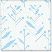 DIYthinker Blau Bud Blume Pflanze Farbe