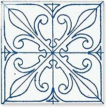 DIYthinker Blau Talavera-Art-Muster Dekorative