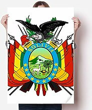 DIYthinker Bolivien National Emblem Land