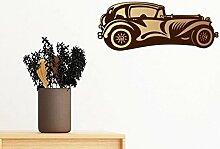 DIYthinker Braun Classic Cars Silhouette Muster