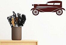 DIYthinker Braun Geometric Classic Cars Silhouette