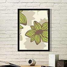 DIYthinker Braun Grün Blume Pflanze Farbe Kunst