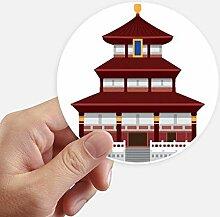DIYthinker China Architektur Tempel Zeichen Muster
