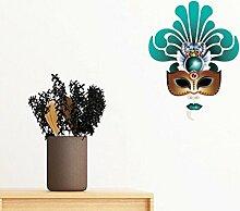 DIYthinker Cyan-Maske Glückliche Karneval von
