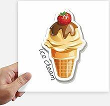 DIYthinker Erdbeerschokolade Süße Eistüte