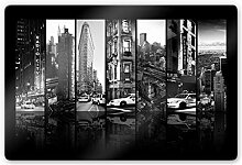 DIYthinker Glasbild Hugonnard - New York Scenes
