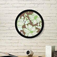 DIYthinker Grün Braun Blume Pflanze Farbe Kunst