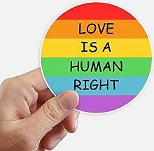 DIYthinker Homosexuell Lesben Regenbogen-Flagge