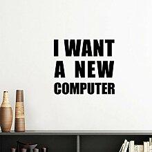 DIYthinker Ich mag eine Neue Computer-Silhouette