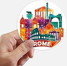 DIYthinker Italien Rom Landschaft Zollzeichen