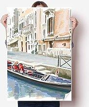 DIYthinker Italien Venedig Zeichen Nationale
