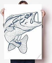 DIYthinker Kornblau Big Fish