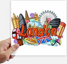 DIYthinker London Eye Buckingham Palace England