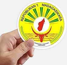DIYthinker Madagaskar Afrika National Emblem