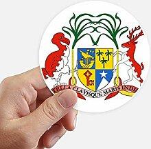 DIYthinker Mauritius Afrika National Emblem