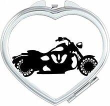 DIYthinker Motorrad Mechanische Schwarz Silhouette