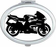 DIYthinker Motorrad-Text Blumenmuster Illustration