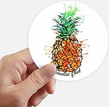 DIYthinker Orange Ananas Tropische Frucht Runde