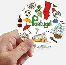 DIYthinker Portugal Landscap Tiere National Flag