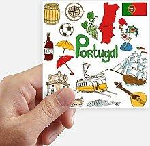DIYthinker Portugal Landscap Tiere Nationalflagge