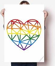 DIYthinker Regenbogen Homosexuell Lesben Modelling