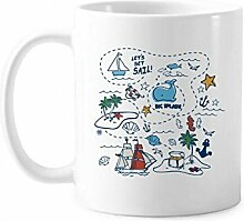 DIYthinker Sail Splash Reise-Klassiker-Becher