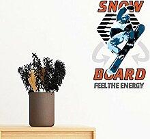 DIYthinker Snowboard Wintersport Illustration
