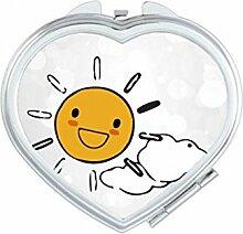 DIYthinker Sonnenbrille Wetter Sun Illustration