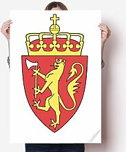 DIYthinker Svalbard Europa National Emblem