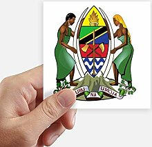 DIYthinker Tansania Afrika National Emblem