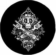 DIYthinker Totenkopf schwarz Musik hören