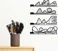 DIYthinker Vergnügungspark Roller Coaster