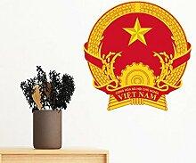 DIYthinker Vietnam Asien National Emblem