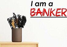 DIYthinker Zitat Ich Bin EIN Banker entfernbarer