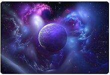 DIZI 3D Universum Galaxy/Raum Teppich Weiche