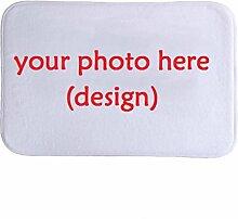 DIZI Badematte Benutzerdefinierte Ihr Foto Printed