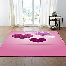 DIZI Teppich Liebe Druck Wohnzimmer/Modernen