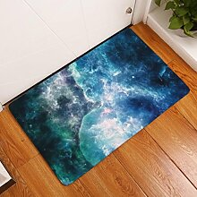 DIZI Teppich Vintage Nebula Bodenmatte Wildleder