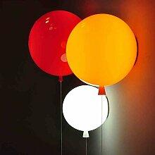 dj Bunte Ballons Kinderzimmer Schlafzimmer Wandleuchte in Gang Wandleuchte LED Licht moderne minimalistische Schlafzimmer Nachtlicht Tisch ( farbe : Gelb-35cm )