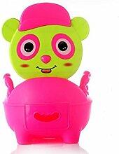 DJ Extra große Schublade-WC für Männer und Frauen für Kinder baby Toilette Töpfchen Pissoir Kind WC-Sitz-Hocker , red
