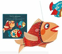 Djeco 4953 Dekoration zum Hängen Fische