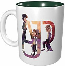 DJNGN Ajr Color Mug Porzellan Cup Mug 330ml
