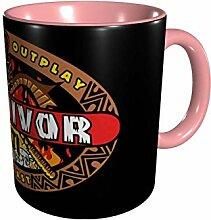 DJNGN Ceramic Coffee Mug Survivor Ceramic Coffee
