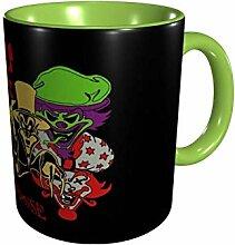 DJNGN Ceramic Coffee Mug Wahnsinnige Clown Posse