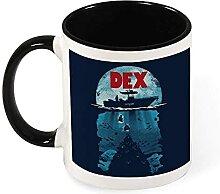 DJNGN Dex Dexter Jaws Mashup Keramik Kaffeebecher
