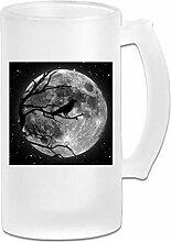 DJNGN Double Wall Frosty Beer Mug Personalisierte