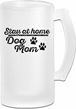 DJNGN Double Wall Frosty Bierkrug Classic Dog Mom