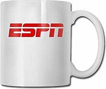 DJNGN Espn Logo Tasse Porzellan Tasse Tasse 330ml