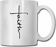 DJNGN Faith Cup Porzellan Cup Becher 330ml Keramik